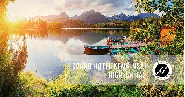 G食記:Grand Hotel Kempinski High Tatras – Grand Restaurant(斯洛伐克)